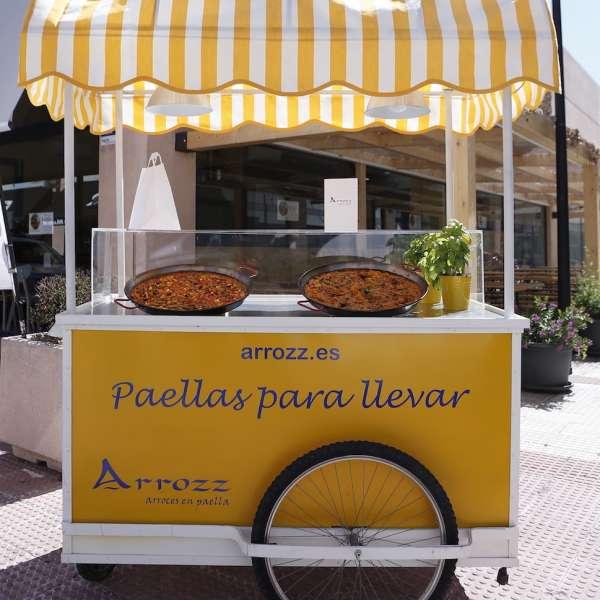 carrito paella